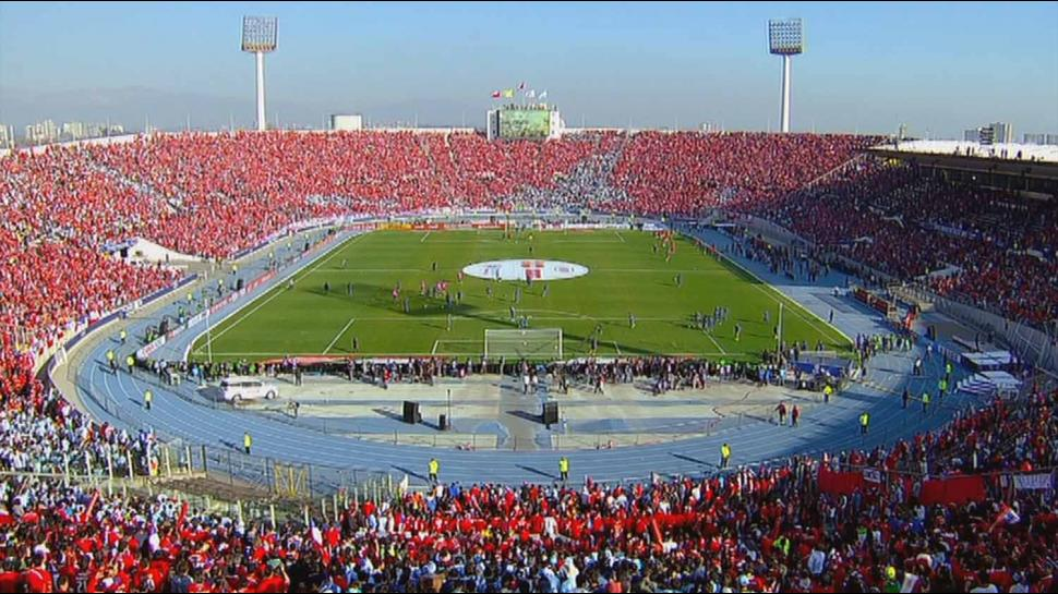 ambiance foot à l'estadio nacional de chile